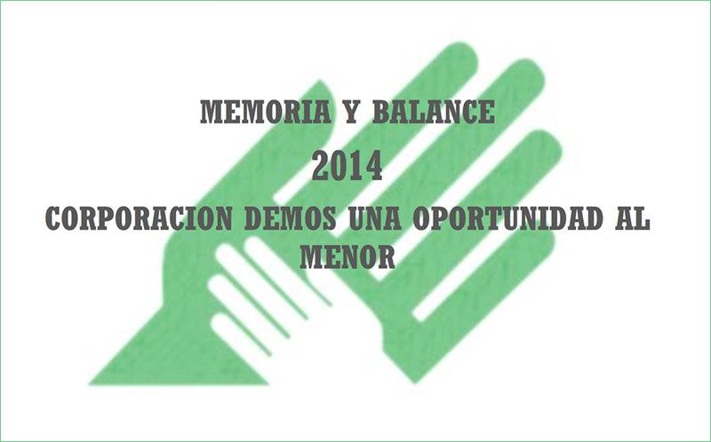 Memoria 2014 – 23 años