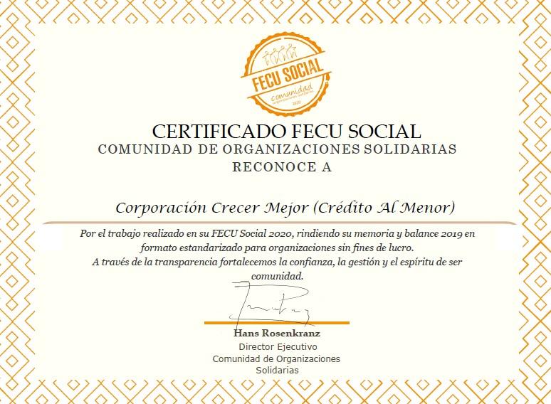 Fecu Social 2019